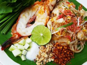 m-town-Thai noodle shrimp
