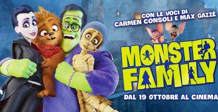 รีวิวภาพยนตร์ Monster Family